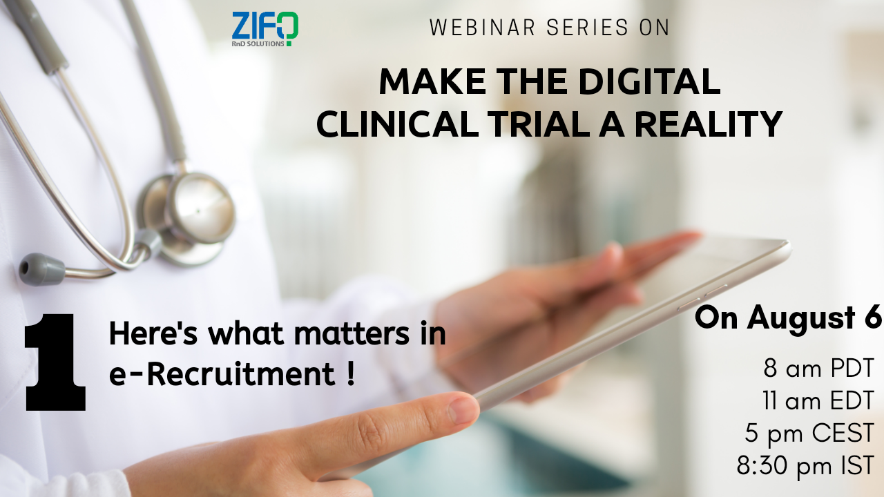 Episode 1 of our new webinar series on running digital clinical trials